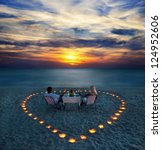 A Young Couple Share A Romanti...