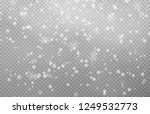 snow with snowdrifts isolated... | Shutterstock .eps vector #1249532773