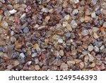 specimen zircon gemstone rough... | Shutterstock . vector #1249546393