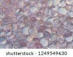 beautiful cabochon rose quartz... | Shutterstock . vector #1249549630