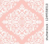 classic seamless vector pattern.... | Shutterstock .eps vector #1249558513