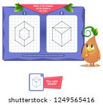 visual educational game for... | Shutterstock .eps vector #1249565416