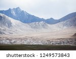 overview of the town of murghab ... | Shutterstock . vector #1249573843