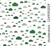light green vector seamless... | Shutterstock .eps vector #1249592029
