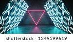 futuristic modern sci fi retro... | Shutterstock . vector #1249599619