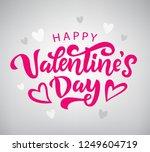 valentines day banner template. ...   Shutterstock .eps vector #1249604719