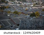 old chinese roofs at lijiang... | Shutterstock . vector #1249620409
