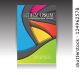 brochure design | Shutterstock .eps vector #124962578