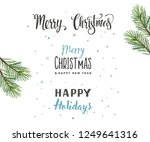 christmas background  ... | Shutterstock .eps vector #1249641316