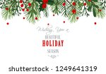 christmas background  ... | Shutterstock .eps vector #1249641319