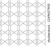 geometric ornamental vector... | Shutterstock .eps vector #1249657903