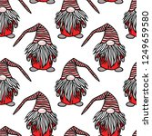vector seamless pattern with...   Shutterstock .eps vector #1249659580