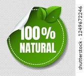 nature label isolated... | Shutterstock . vector #1249672246