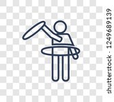 people hula hop icon icon.... | Shutterstock .eps vector #1249689139