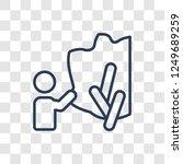 burning bush icon. trendy... | Shutterstock .eps vector #1249689259