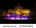 advent in zagreb   ice park on...   Shutterstock . vector #1249694896