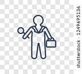 hr specialist icon. trendy... | Shutterstock .eps vector #1249695136