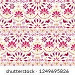 mexican traditional folk art... | Shutterstock .eps vector #1249695826