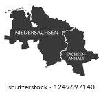 lower saxony   saxony anhalt... | Shutterstock .eps vector #1249697140