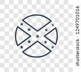 political flag icon. trendy...   Shutterstock .eps vector #1249701016