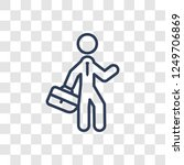executive manager icon. trendy...   Shutterstock .eps vector #1249706869