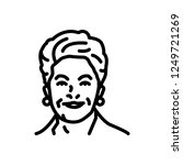 vector icon for dilma | Shutterstock .eps vector #1249721269