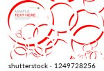 abstract background with... | Shutterstock .eps vector #1249728256
