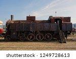 old locomotive  movie star   Shutterstock . vector #1249728613