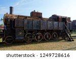 old locomotive  movie star   Shutterstock . vector #1249728616