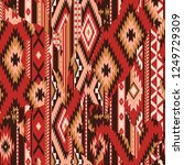 native american fabric... | Shutterstock .eps vector #1249729309