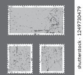 postage stamps in grunge style. ... | Shutterstock .eps vector #1249730479