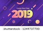 geometric background btight... | Shutterstock .eps vector #1249737700