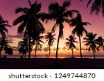 sunrise in maldives | Shutterstock . vector #1249744870