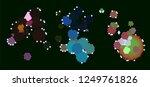 abstract vector background dot... | Shutterstock .eps vector #1249761826