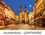 wurzburg  bavaria  germany  ... | Shutterstock . vector #1249764400