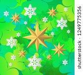 decorative christmas tree... | Shutterstock .eps vector #1249775356