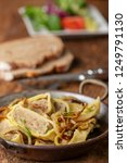 swabian maultasche with onions...   Shutterstock . vector #1249791130