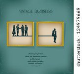 business concept human resource ...   Shutterstock .eps vector #124979669