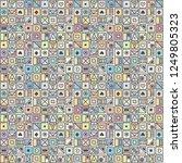 seamless vector pattern ... | Shutterstock .eps vector #1249805323