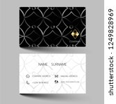 black  and gold modern business ... | Shutterstock .eps vector #1249828969