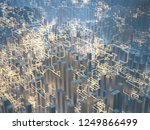 abstract image of geometric... | Shutterstock . vector #1249866499