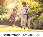 happiness and going home.... | Shutterstock . vector #1249888279