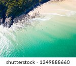 noosa national park aerial view ... | Shutterstock . vector #1249888660