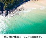 noosa national park aerial view ... | Shutterstock . vector #1249888660
