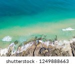 noosa national park aerial view ... | Shutterstock . vector #1249888663