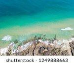 noosa national park aerial view ... | Shutterstock . vector #1249888663