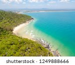 noosa national park aerial view ... | Shutterstock . vector #1249888666