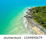 noosa national park aerial view ... | Shutterstock . vector #1249890679