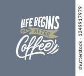 hand lettering   typography... | Shutterstock .eps vector #1249917979