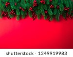 christmas background concept.... | Shutterstock . vector #1249919983